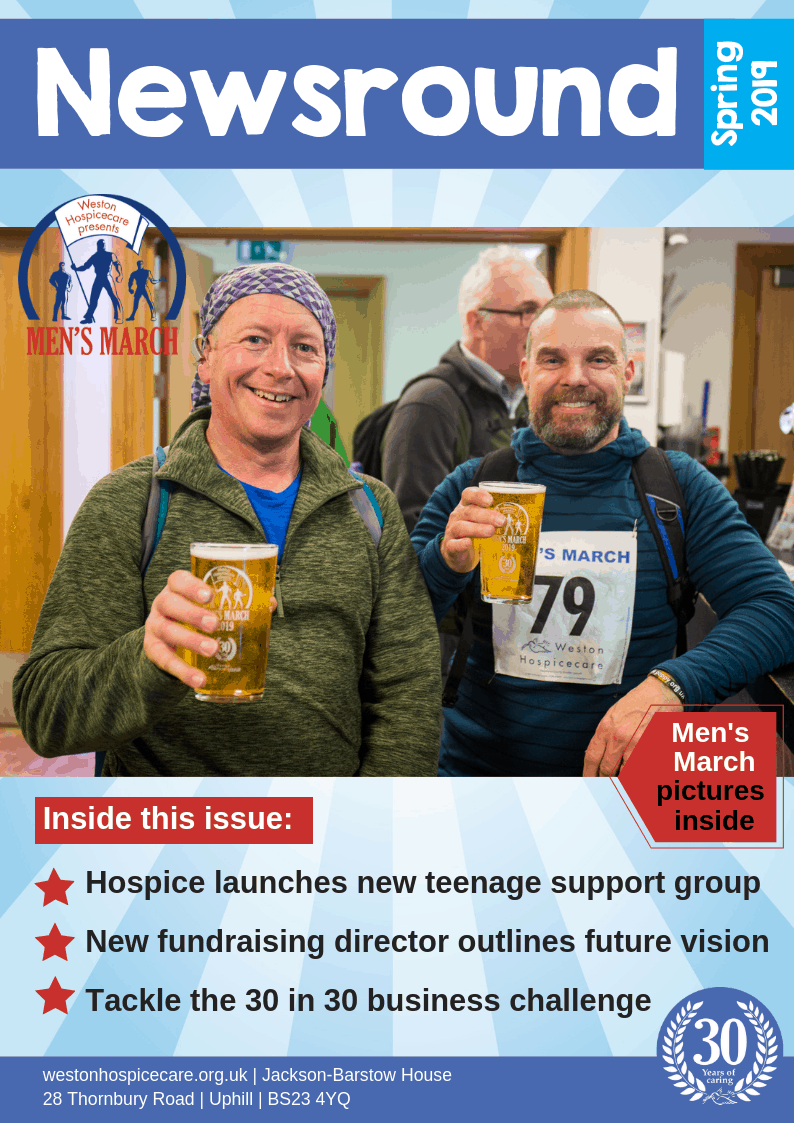 Front Cover - Newsround Spring 2019